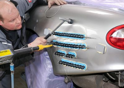 Reparaturablauf Jaguar XK8