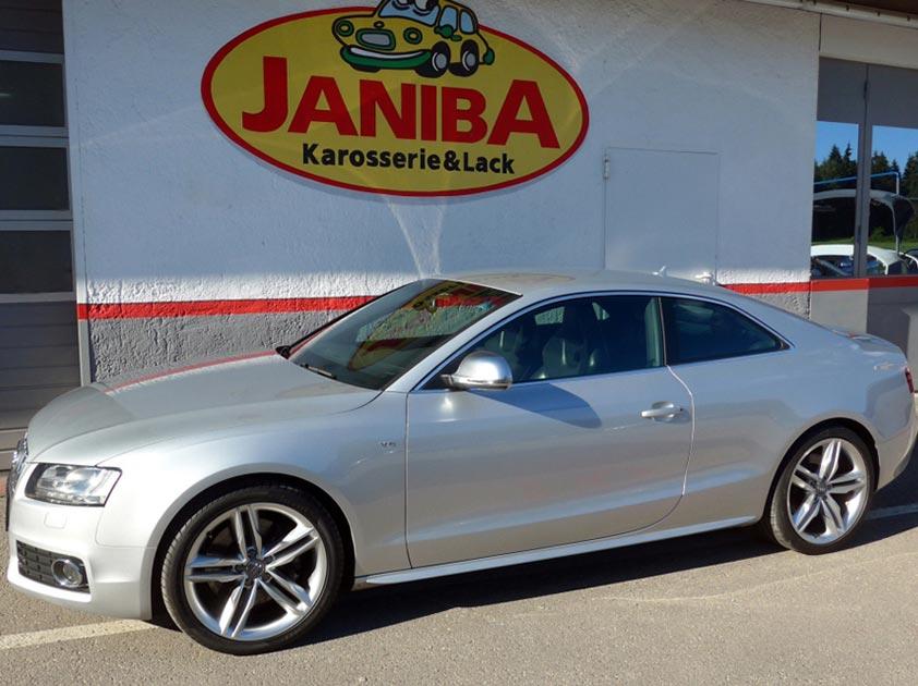 Bei Janiba kann Ihr Auto wieder lachen Audi S5