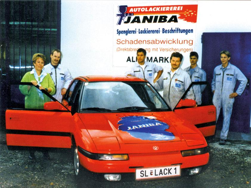 Janiba Karosserie- und Lackierfachbetrieb Team 1997