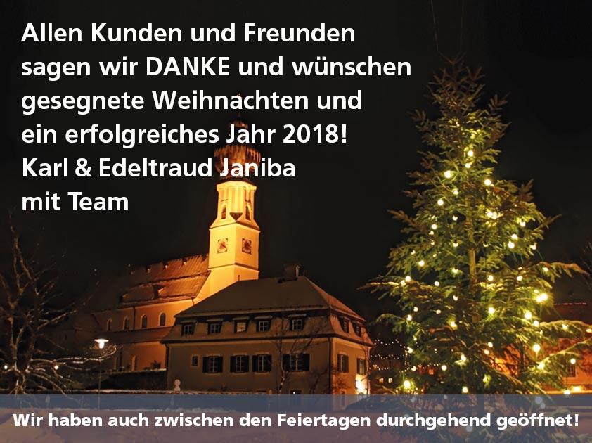 Janiba zu Weihnachten.