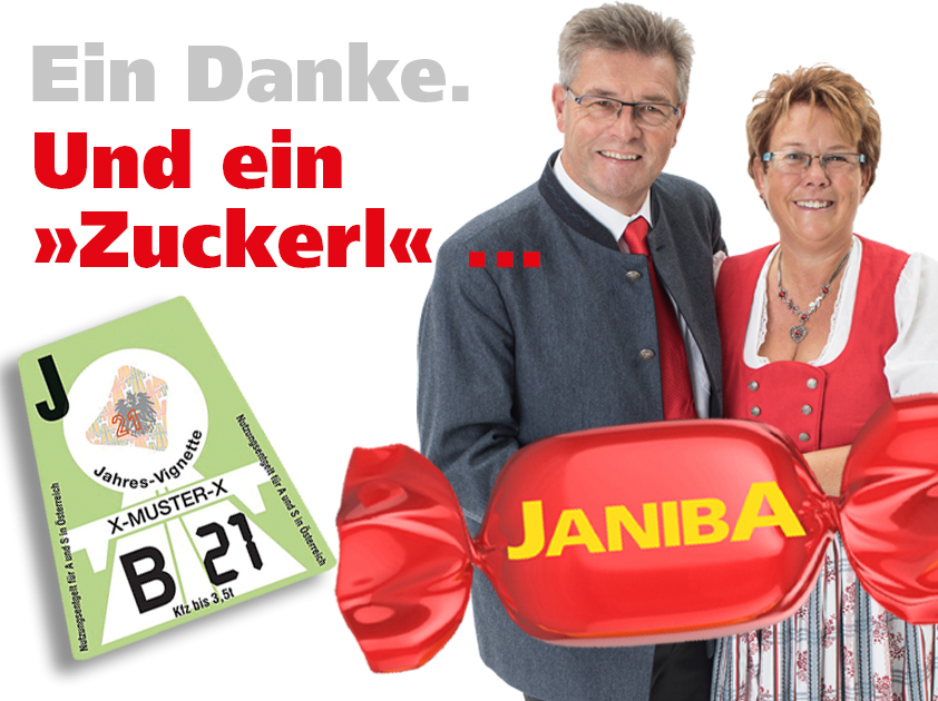 Janiba repariert Hagelschäden.