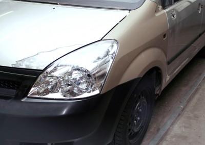 Unfallschaden-Instandsetzung. Toyota Verso.