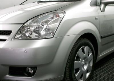 Unfallschaden-Instandsetzung. Toyota Verso - Schaden behoben.