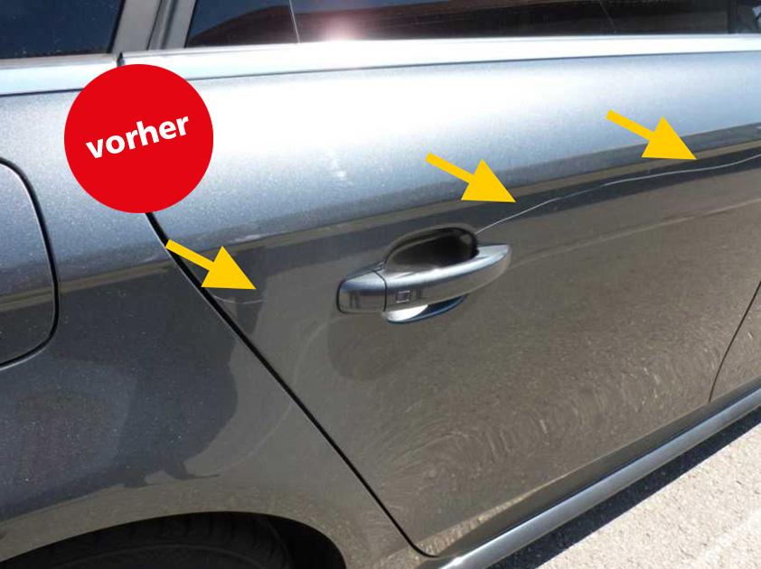 Kratzer weg ab € 169,-. Sparen Sie bis zu 70% mit unserer Kleinschaden-Reparatur (»spot-repair«)!