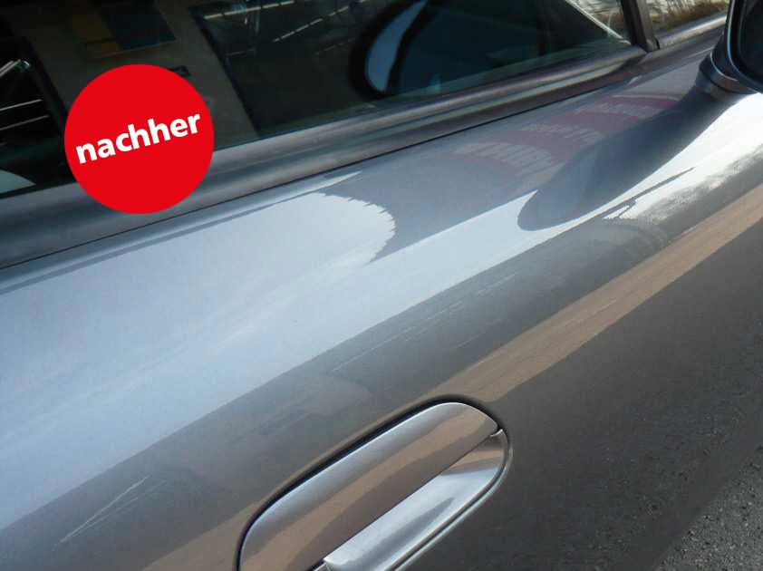 Delle weg ab € 39,-. Wir sind TÜV-zertifizierte Dellendrücker und beheben Dellen bis etwa 3 cm Durchmesser durch »Drücken«, ohne Neulackierung!