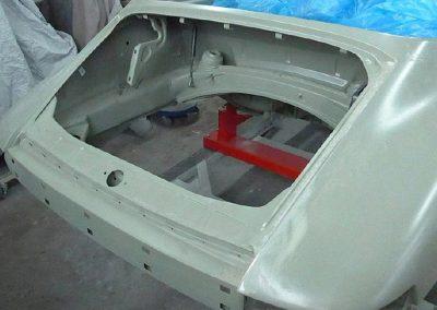 Porsche 911 Oldtimer Neulackierung
