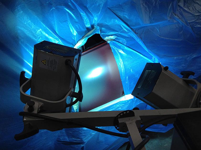 Rasche Trocknungszeit und niedriger Energieverbrauch durch modernen UV-Füller
