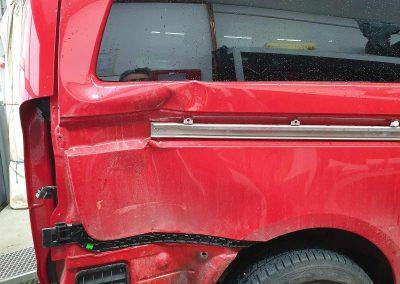 Unfallschaden-Instandsetzung. Mercedes Vito – Seitenschaden.
